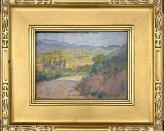 "Elanor Colburn  (1866-1939)  11.5"" x  8.5""  $1000"