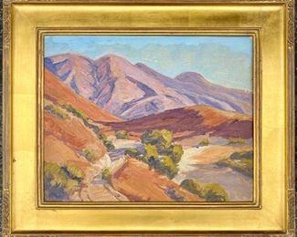 "Raymond Cuevas  16"" x  20""   ""Altadena Hills""                        $1500"