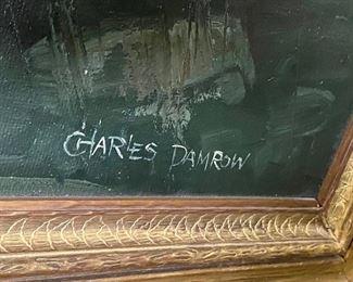 Battle of the Bison artist Charles Damrow