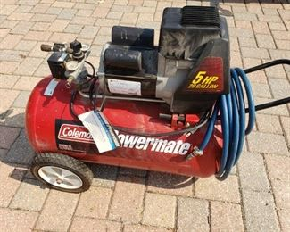 COLEMAN 5HP POWERMATE.  WOW! NICE! $140.
