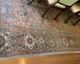 """54. Antique Sultanabad Hand Woven Rug (13'1"""" x 10'11"""")"""