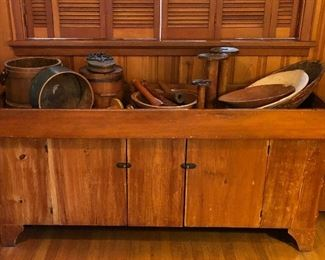 Civil War Era Dry Sink