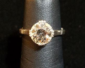2+ Carat VVS2 Diamond Ring