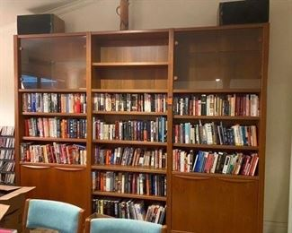 9. $495 Teak bookcases all in one - can be taken apart
