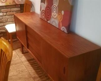 Vintage Midcentury credenza by Nils Johnson for Troeds