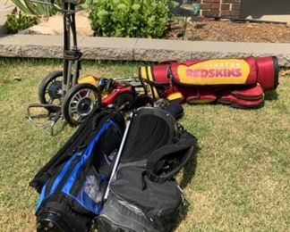 Washington Redskins golf bag , other golf bags and holder, PING, CALLAWAY, misc golf clubs