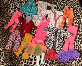 Vintage Barbie And Friends Clothing