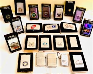 Coast GUARD zippo lighter collection