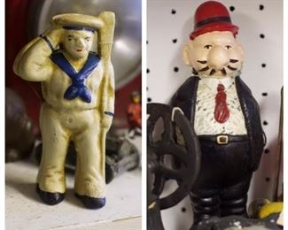 Cast iron figures