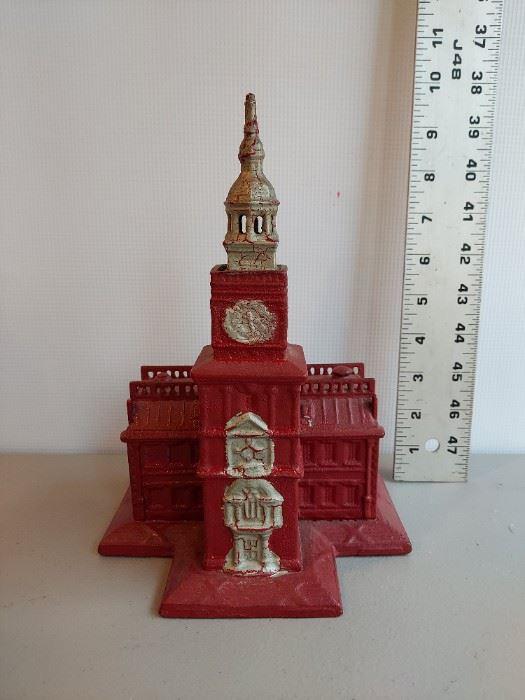 Independence Hall, Still cast iron bank $250