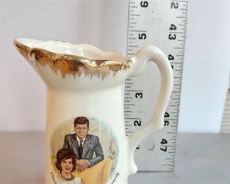 President and Mrs. John F. Kennedy Commemorative Creamer $8