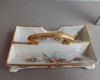 Prov Saxe china dish $18