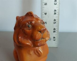 Lion pitcher $8 (another angle, only one for sale)