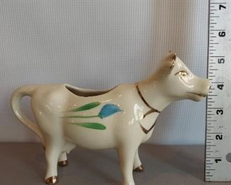 Cow pitcher $8