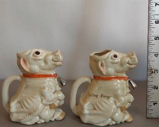Made in Germany cow pitchers Pair for $18