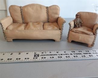 Handmade Silk dollhouse furniture $35