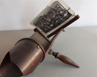 Stereograph with 22 cards $85