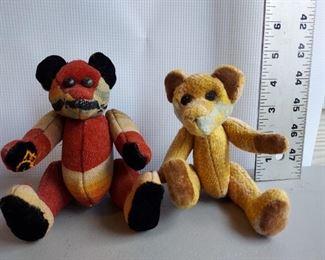 2 patch mini teddy bears $40 (pair)