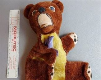 Gung creations bear puppet $8