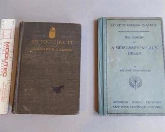 Vintage books $10