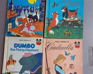 Lot of 4 Disney books $20