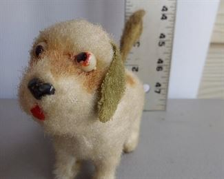ALPS MECHANICAL WIND UP TOY DOG PUPPY ROCK VALLEY TOYS JAPAN $12