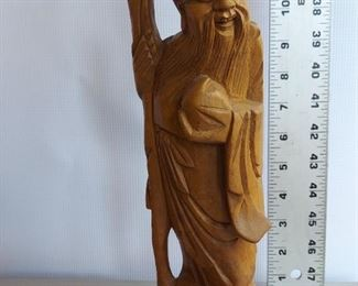 Wooden carving $11