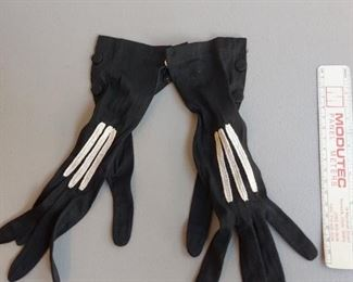 Antique Vintage Gloves $15 each 2 identical pairs available