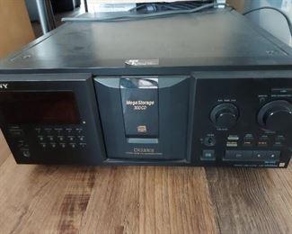 Sony Mega Storage 300 CD $100