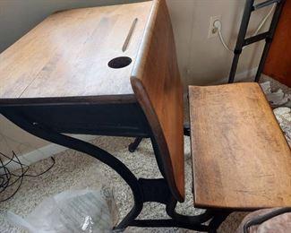 Vintage School Desk $75