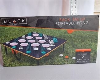 Portable beer pong table $10