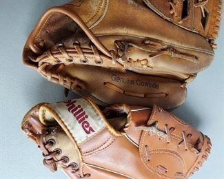 Baseball gloves  $15