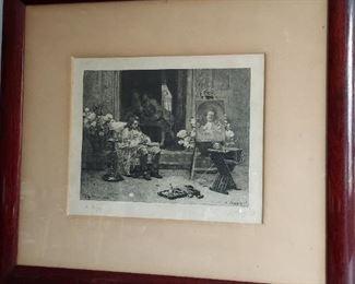 JG Vibert 1875 print $50