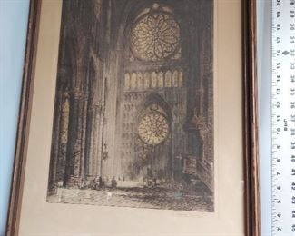 Cathedral Rose Brewer reprint by Campbell $75