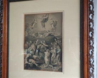 Religious print $50