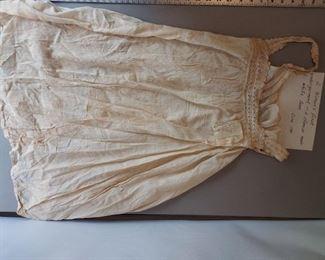 vintage 1780 slip or undergarment $50