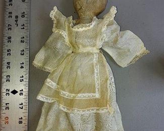 Graphite vintage doll.  Handmade $225