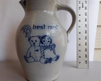 Rockdale pottery, Raggedy Ann $16
