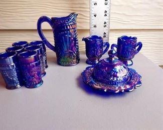 11 Item (12 Piece) Miniature Carnival Ware Set $36