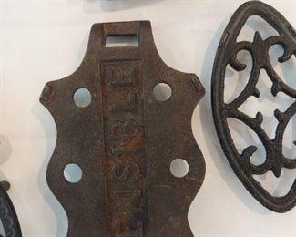 Mini Sad Iron (Trivet) Lot 10:  $35