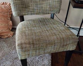 Plush chair used $25