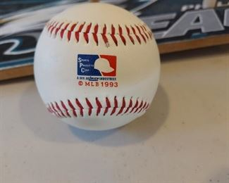 Phillies ball 1993 $15