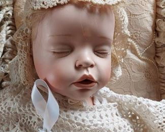 Isabella doll with rattle $350