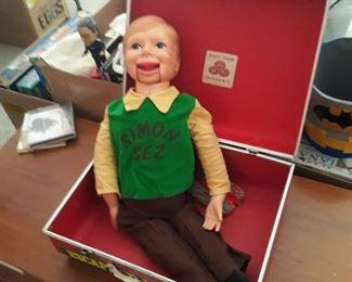 Simon sez ventriloquist  doll
