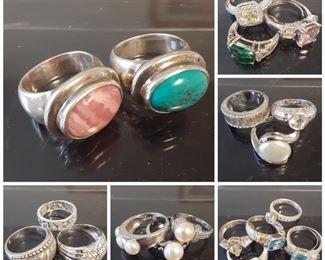 Gorgeous Sterling & gemstone jewelry