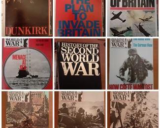 Vintage military magazines