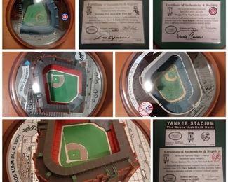 Collectable stadium replicas