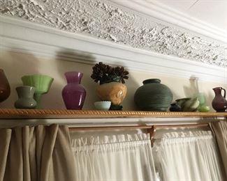 Decorative Vases, Urns & Pottery