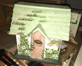 Nice Birdhouse--One of Many Masterfully Homemade projects !