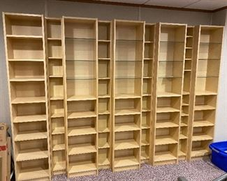 Book/CV shelving
